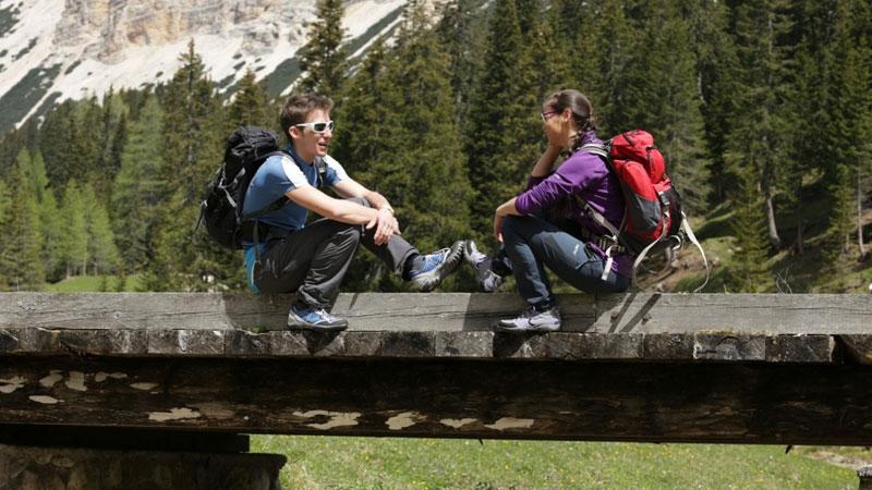 scarpe da trekking vanno alla grande